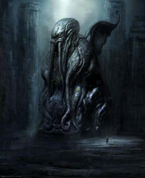 Cthulhu statue DVG by Darkcloud013