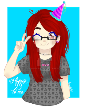 Happy 23 to me! by char1cific
