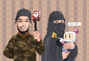 Jihad family by QuilesART