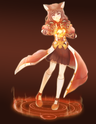 Fanart - Tree of Savior Pyromancer by Vyolfers