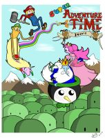Super Adventure Time by Spectral-Beanie