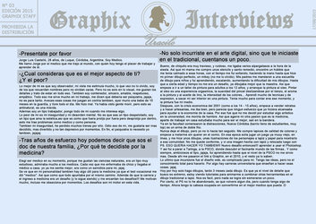 Graphix Interviews #3 (Part 1) by Graphix-Team