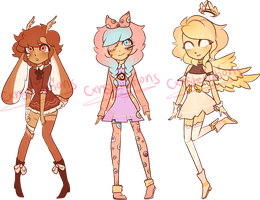 [CLOSED] OTA Batch!! by CxnsteIIations
