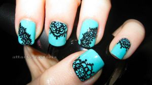 lace nails 3 by xtheungodx