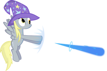 Derpy, Master of Elements 02 by delectablecoffee
