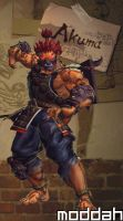 SFTK PC Akuma Alt. Costume backport from xbox360 by moddah