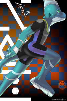 Come running | Hexstyle by G3Drakoheart-Arts
