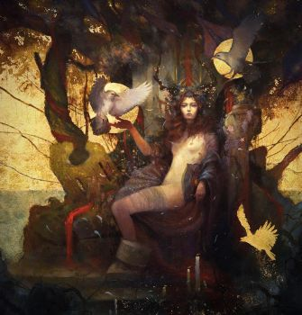 La Morrigan by Yoann-Lossel