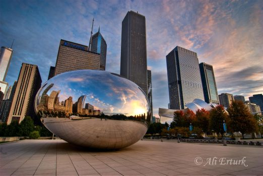 Chicago, The egg by alierturk
