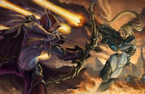 Heroes Of The Storm by graphitenightmare