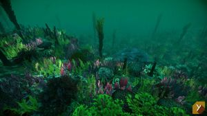 UPDATED - Unity : Underwater Plants by Yughues