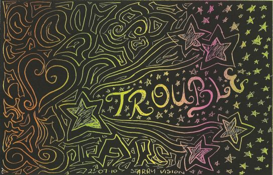 trouble in the stars by Mogzay