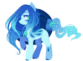 [Closed] Water Solutai Pony Auction by S-Adopts