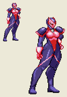 Sprite Work: Mighty Omega by SXGodzilla