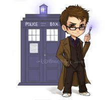Doctor WHO chibi by Kinky-chichi