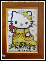 Framework Hello Kitty Princess by lamu1976
