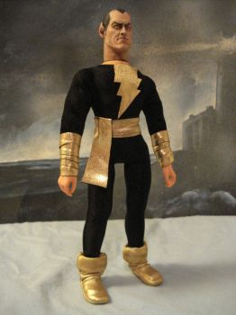 Black Adam by randomaxedesign