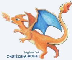 Charizard by rayechu
