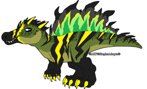 Scribbledtale Baby spinosaur by StephsAdopts