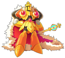 Commission: King Knight X by ultimatemaverickx