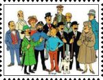 Tintin and Friends stamp by katamariluv