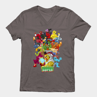 TeePublic.com Sesame Street Fighter Shirts by gavacho13