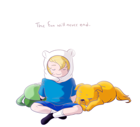 The Fun Will Never End by BlueSideArts