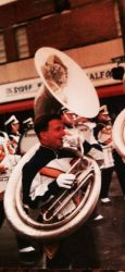 Picture playing tuba: by donwhitt
