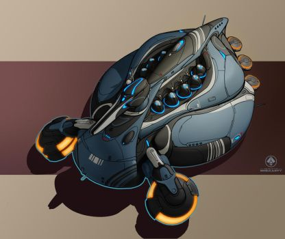 Substrate Drone-Hive by zombat