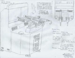 CYBORG SOLDIERS - Standard TYPE A Cabinet by tambok0599
