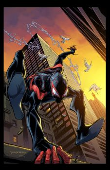 Cover:  Spider-Man 002 Variant by E-Mann
