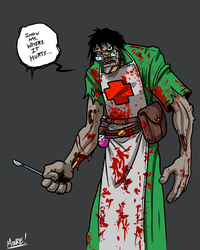 Heads Up 106 - Undead Medic by SeanRM
