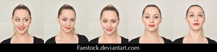Expressions - Stock pack 6 by faestock
