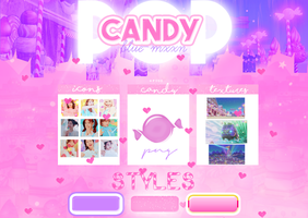 CANDY POP   PACK by blue-mxxn