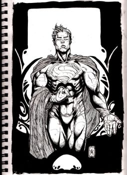 Man of steel by youmaykillthebride