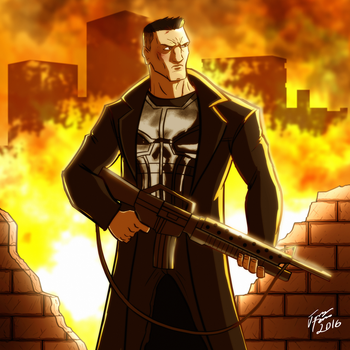 The Punisher by jonathanserrot