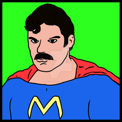 Super-Moustache by prometheus31