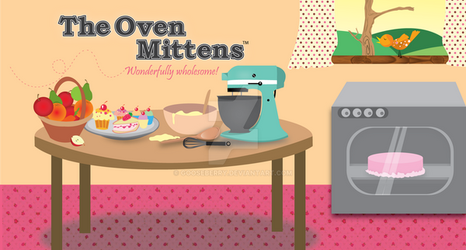 The Oven Mittens by gooseberry