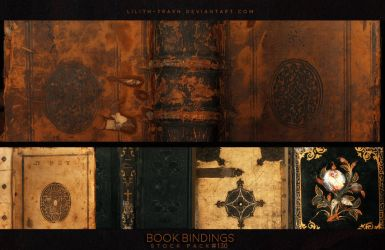 Book Bindings ( Stock Pack ) #130 by LilithDemoness