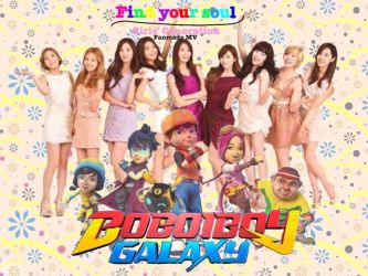BBB galaxy X girls generation - find your soul by Manahan-Aundrey