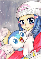 Pokemon Merry Christmas - Dawn