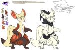 Many like it but this one is mine//Delphox by Whitefeathur