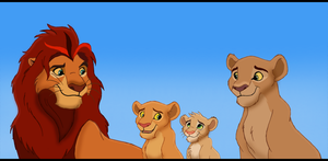 Nala's family by Penda321