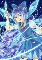 Touhou Project Cirno by LSK0204