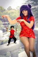 My Ranma Puppet by queencattabby