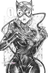 Catwoman by CottonyHotchkiss