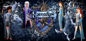 Disney Hogwarts students: Ravenclaw by Willemijn1991