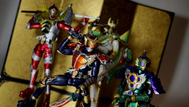 Kamen Rider Gaim Group 01 by Infinitevirtue