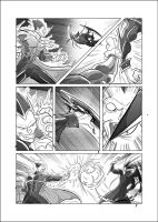 Comic study - Darkstalkers Jedah vs Demitri by TheInsaneDarkOne
