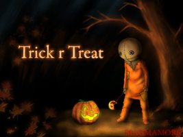 Trick r treat by Magmamork